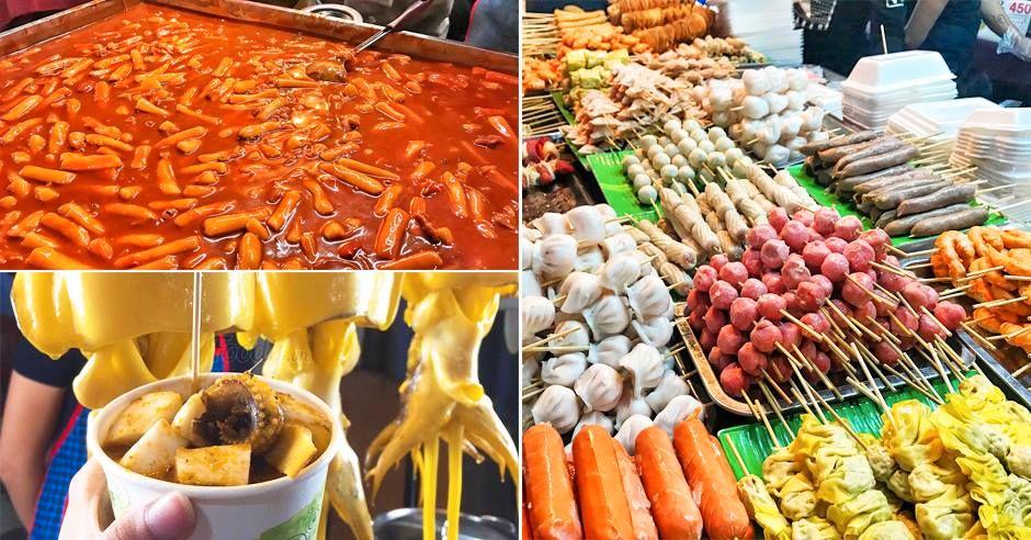 ẩm thực chợ đêm Đồng Xuân